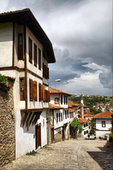 Historical Safranbolu Turkish homes in Karabuk, Turkey