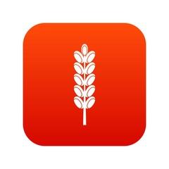 Field spike icon digital red