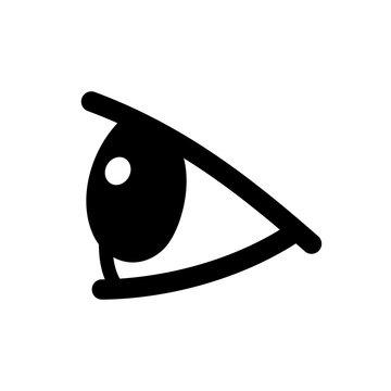 Eye side view