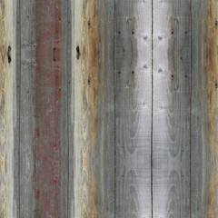 Abstract seamless gray stripes, stylized wood texture. Background illustration.