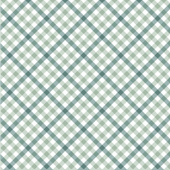 Tartan Vector Patterns, Mint And Pistachio, White And Sky