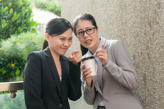 women workplace bullying conversation