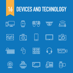 DEVICES AND TECHNOLOGY CONCEPT