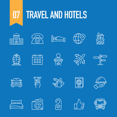 TRAVEL AND HOTELS CONCEPT