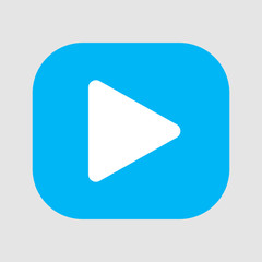 play video icon. vector