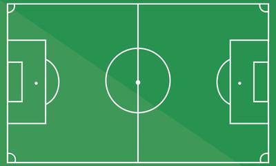 football field. soccer field. vector