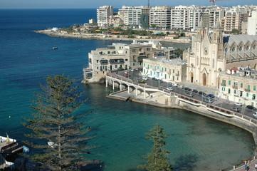 Quartier St-Julien, île de Malte