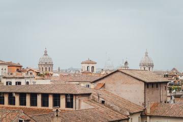 Panoramic view of Rome, Lazio, Italy