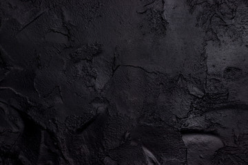 Black textured concrete