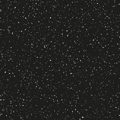 Black bold grungy seamless vector texture. Decorative layout for adding roughness to design with any resolution. Tileable pattern for endless repetition.