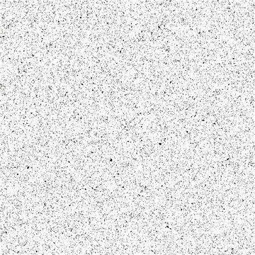 Monochrome abstract seamless vector texture. Rich noise effect for illustration and design.