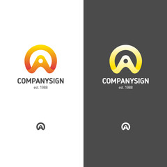 Abstract logo in a modern style