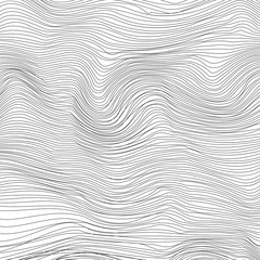 Wave Stripe Background
