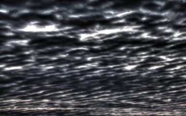 Dunkle schwarze Wolkenwand, Wolken, Hintergrundbild
