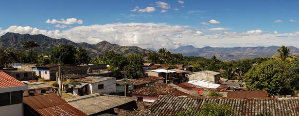Tacuba village in El Salvador.