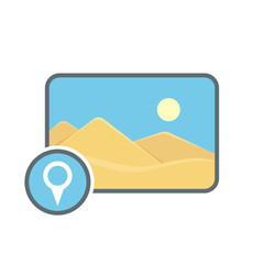 Geolocatin image location photo photography picture pin icon