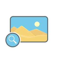 Image photo photography picture search icon