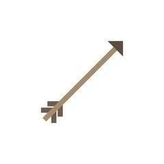 Camping & adventure icons - arrow