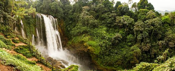 Pulhapanzak Waterfall in Honduras.