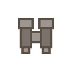 Camping & adventure icons - binoculars