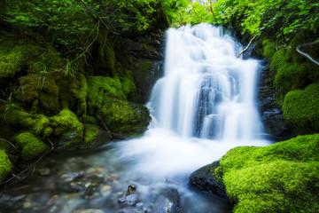 Cabin Waterfall