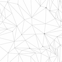 Polygonal vector seamless pattern simple abstract geometric texture for bright background