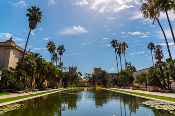 Reflections in San Diego's Balboa Park