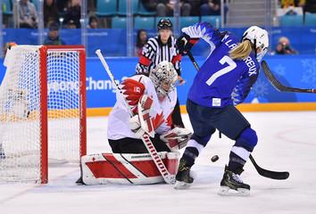 Olympics: Ice Hockey-Women Team Final - USA-CAN