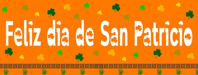 Feliz Día de San Patricio - trébol