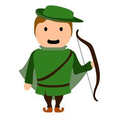 Archer cartoon character