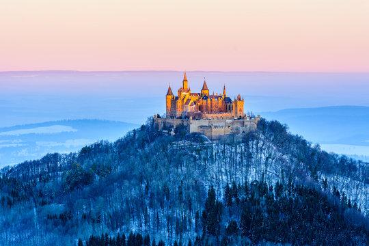Hohenzollern in winter