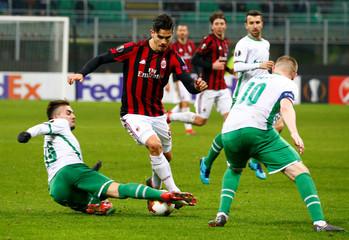 Europa League Round of 32 Second Leg - AC Milan vs PFC Ludogorets Razgrad