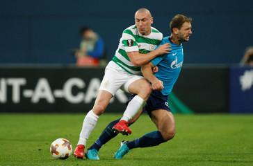 Europa League Round of 32 Second Leg - Zenit Saint Petersburg vs Celtic