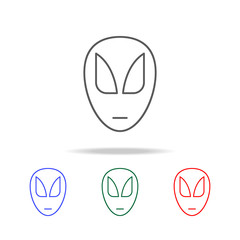 superhero mask icon. Elements in multi colored icons for mobile concept and web apps. Icons for website design and development, app development