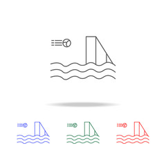 water polo icon. Elements in multi colored icons for mobile concept and web apps. Icons for website design and development, app development