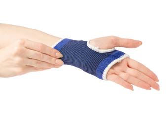 Bandage on the arm medical