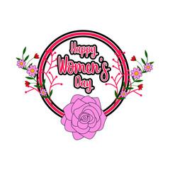 Women day label