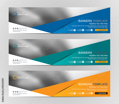 abstract web banner design background or header templates stock