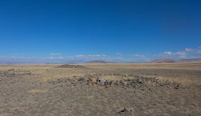 Royal burial mounds