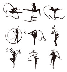 Gymnastic Silhouettes