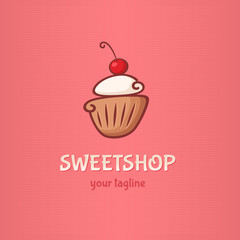 cake Logo sweetshop