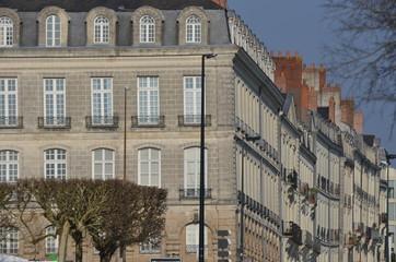 Immeubles de l'île Feyeau, à Nantes, France