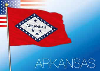 Arkansas federal state flag, United States