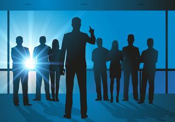 réunion - entreprise - patron - leadership - stratégie - dirigeant - communication - travail - orientation