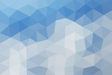 Low poly triangular background, vector