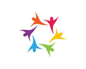 Community care Logo template