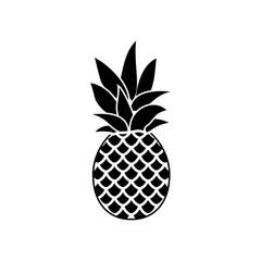 Pineapple vector icon