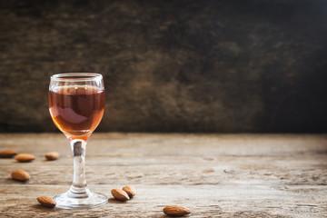 Amaretto liqueur