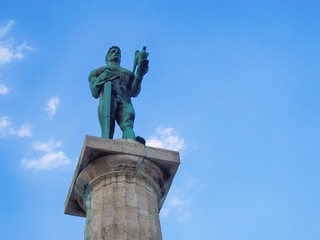 Statue of the Victor or Statue of Victory is a monument in the Kalemegdan fortress in Belgrade