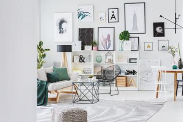 Bright stylish interior